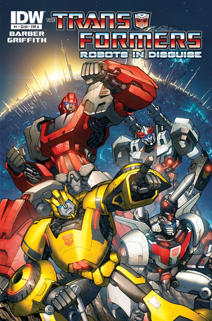 TRANSFORMERS: Robots in Disguise #1 cover A
