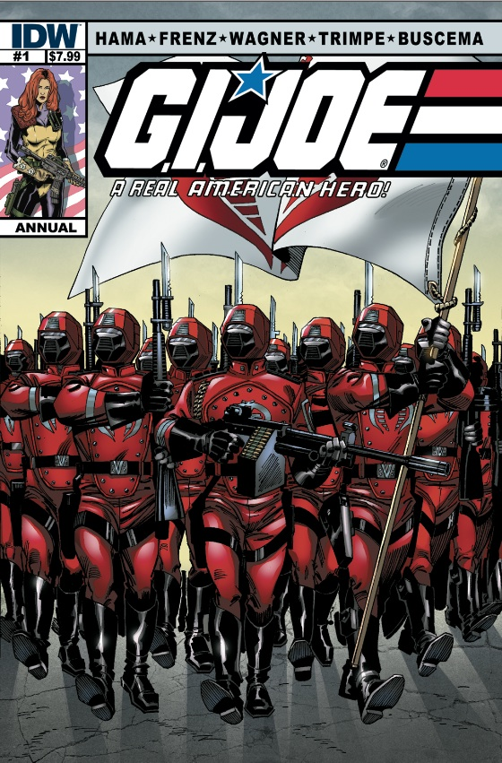 G.I. JOE Real American Hero Annual #1