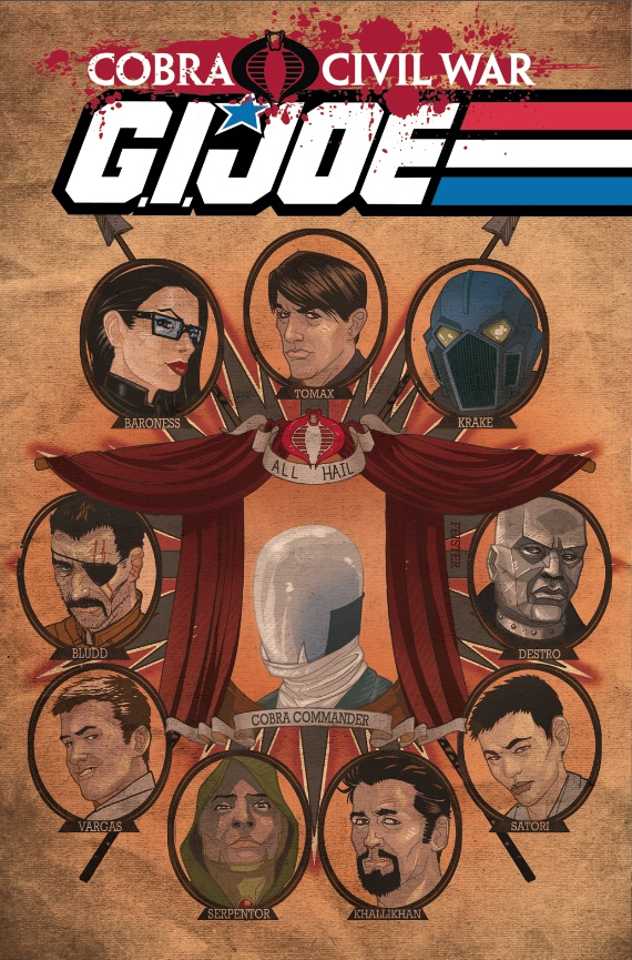 G.I. JOE Vol 2 Cobra Civil War