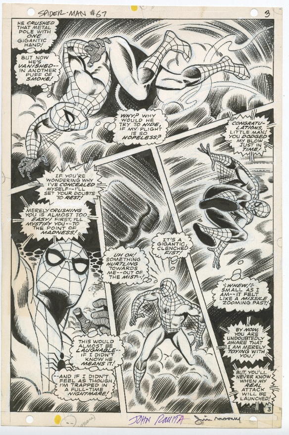 Spider Man Interior Page