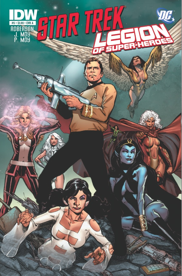 Star Trek/Legion of Superheroes #5