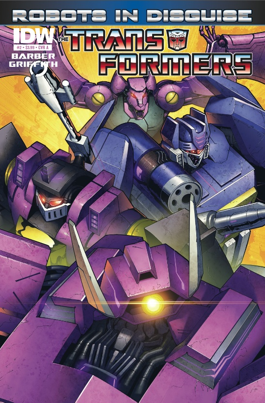 Transformers Robots in Disguise #2
