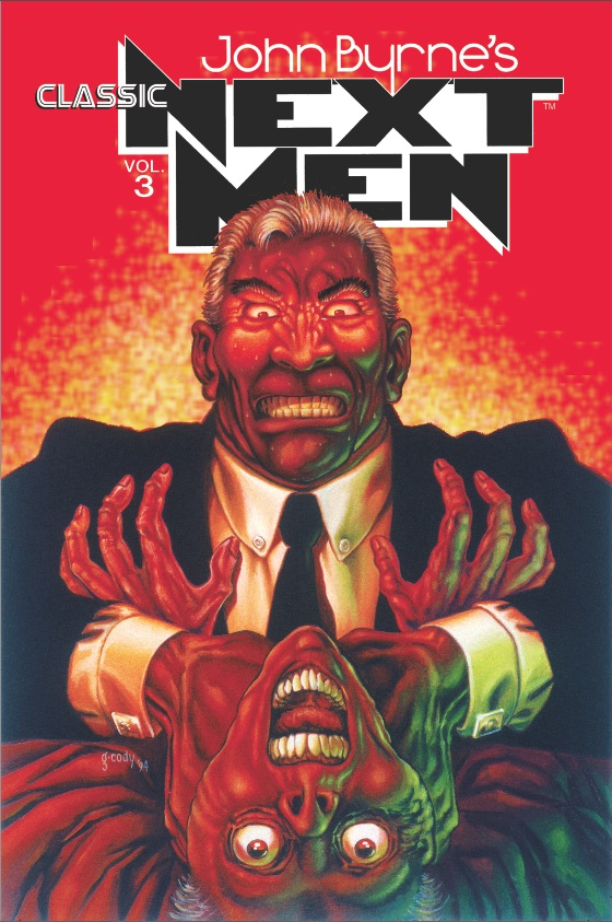 John Byrne's Classic Next Men, Vol. 3 cover