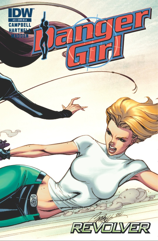 Danger Girl: Revolver #3 cover