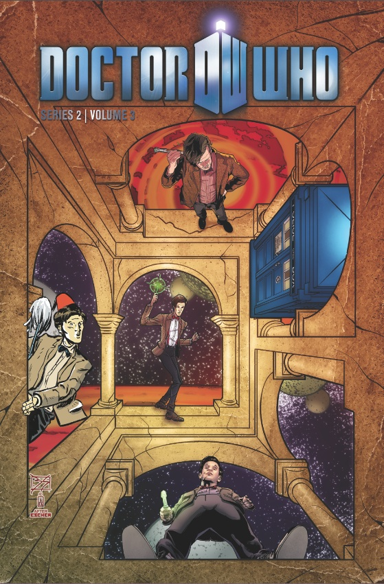 Doctor Who II, Vol. 3: It Came From Outer Space cover
