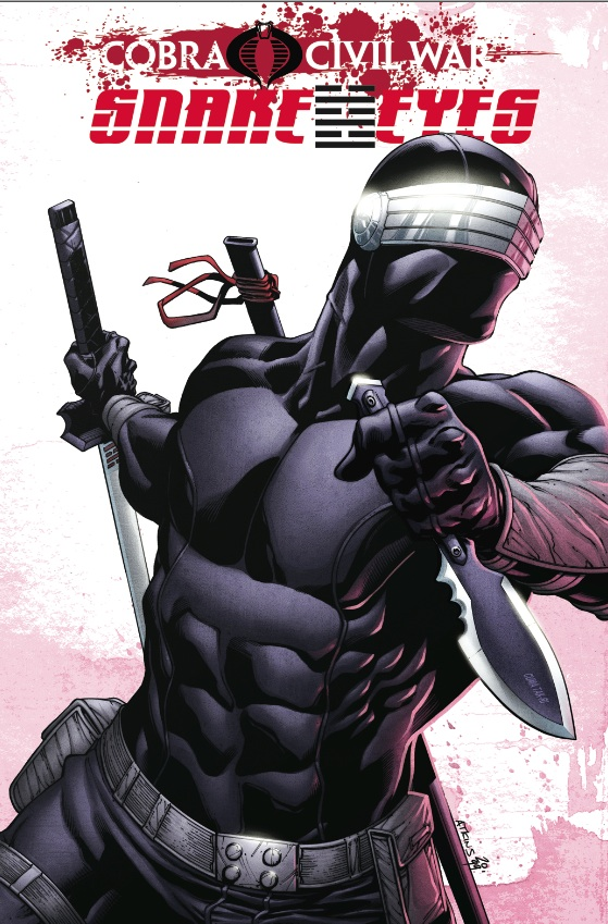 G.I. JOE: Snake Eyes, Vol. 2: Cobra Civil War cover