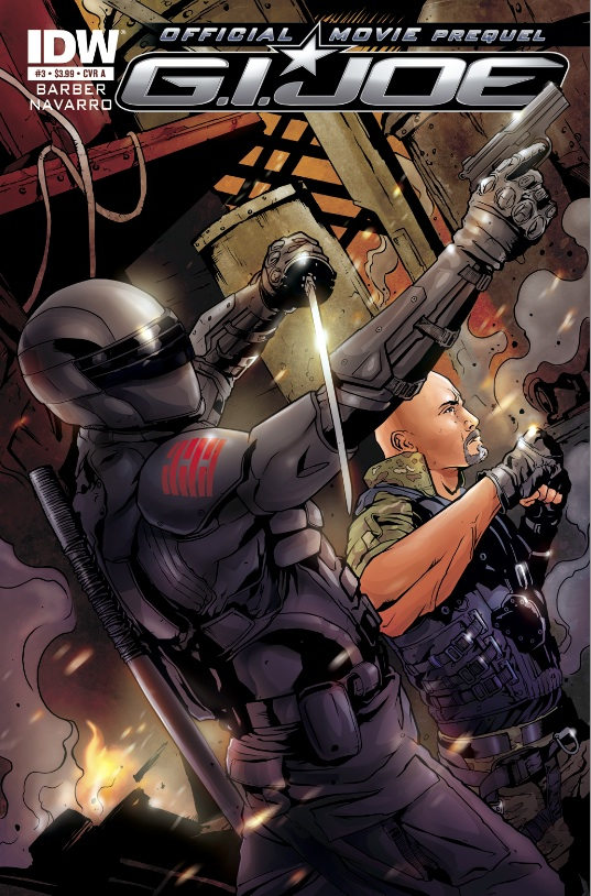 G.I. Joe 2: Movie Prequel #3 cover