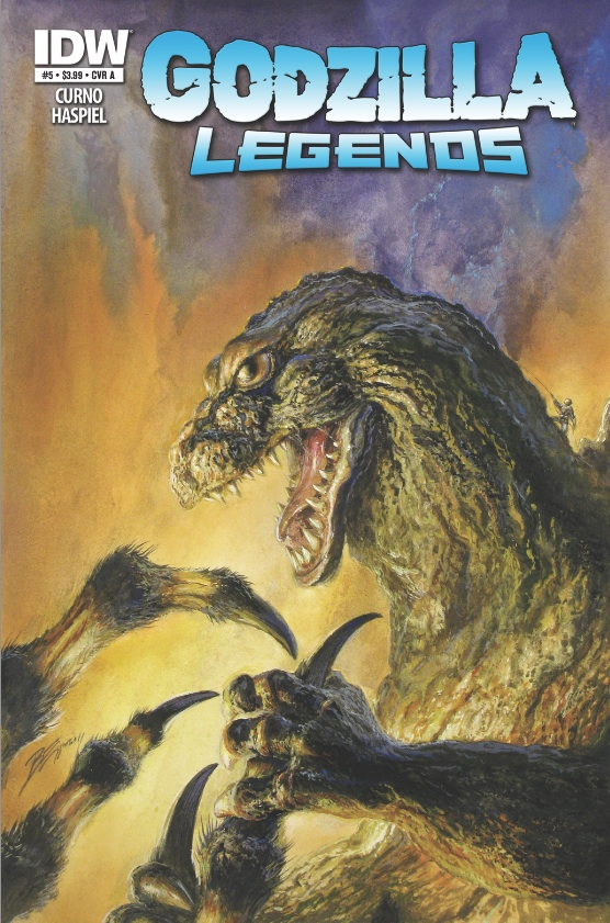 Godzilla Legends #5 cover