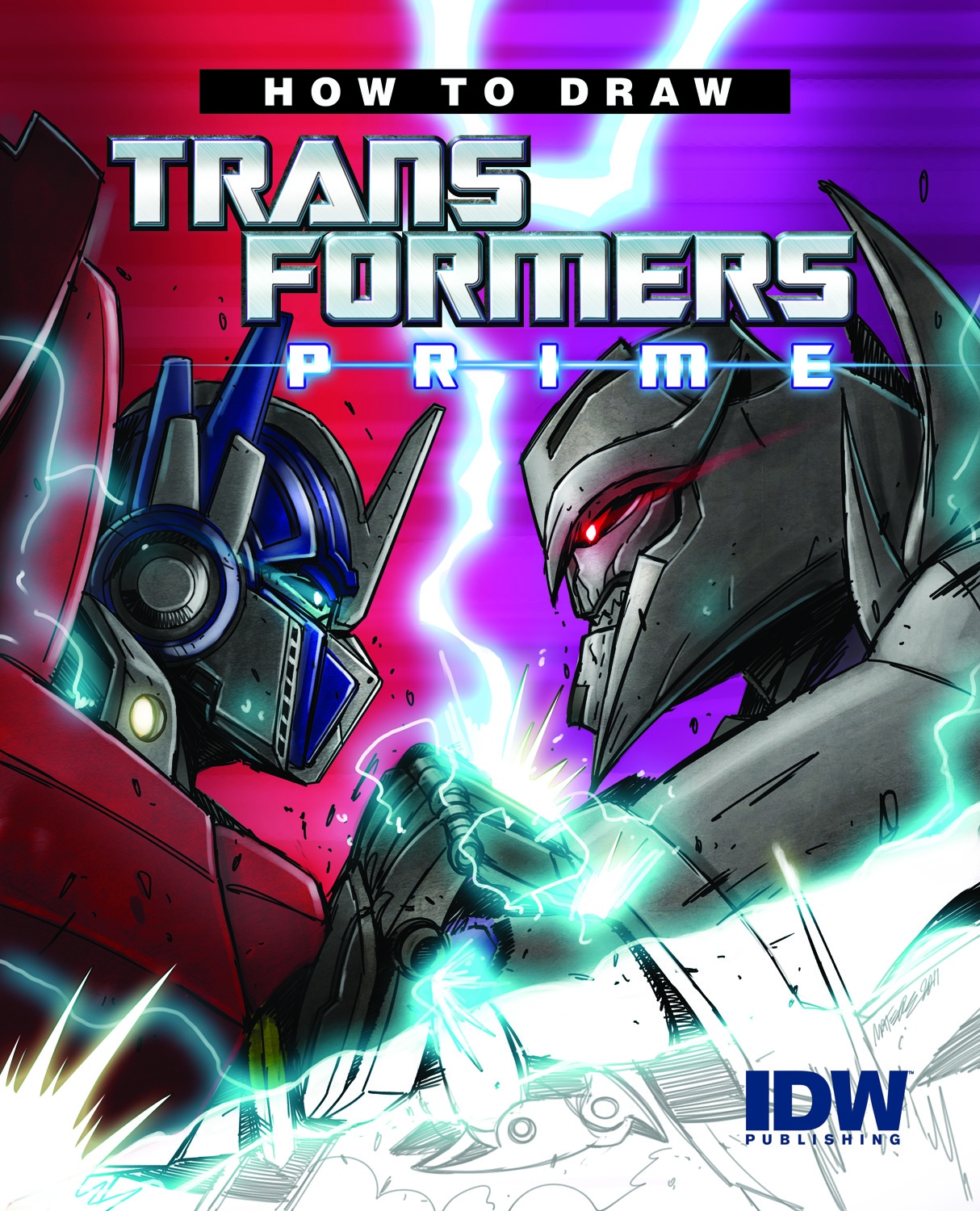 How to Draw Transformers cover