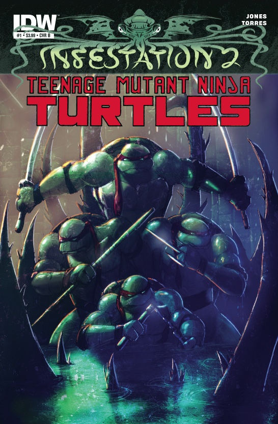 Infestation 2: Teenage Mutant Ninja Turtles #1 cover
