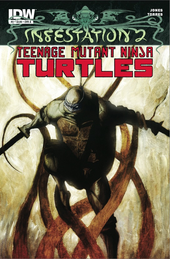 Infestation 2: Teenage Mutant Ninja Turtles #2 cover