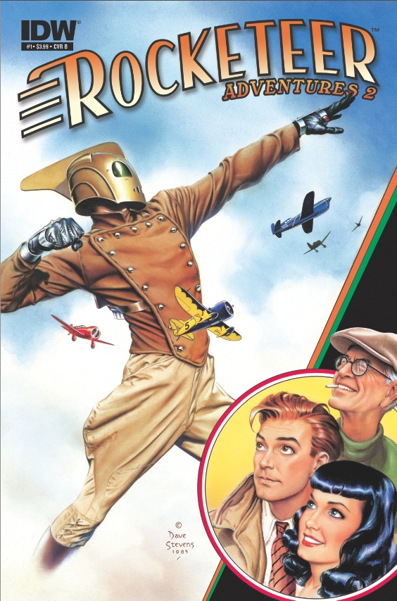 Rocketeer Adventures 2 #1 cover