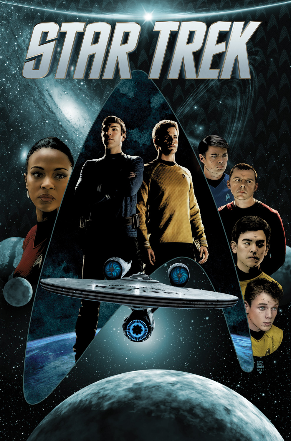 Star Trek, Vol. 1 cover