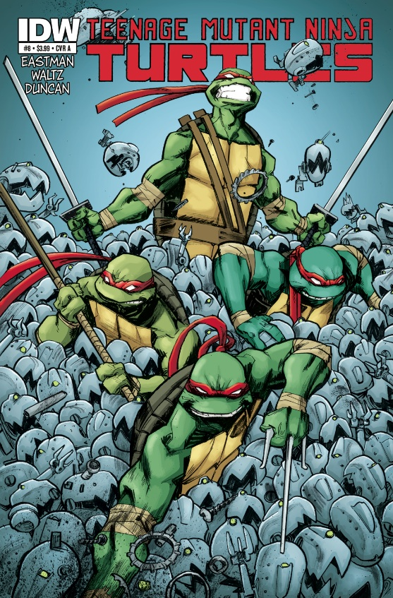 Teenage Mutant Ninja Turtles Ongoing #8 cover