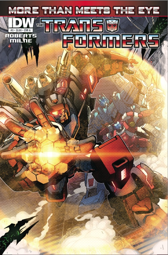 Transformers: More Than Meets The Eye Ongoing #3 cover