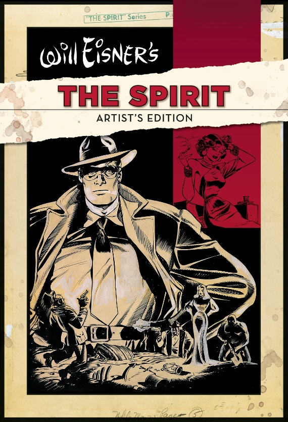 Will Eisner's The Spirit Artist's Edition HC cover