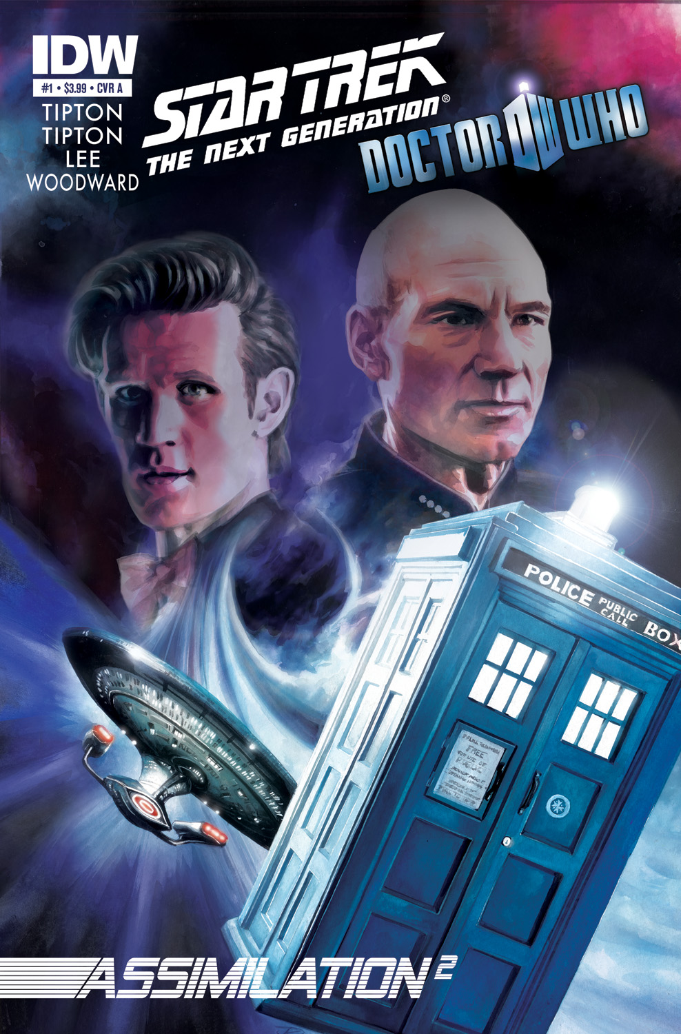 Star Trek/Doctor Who #1
