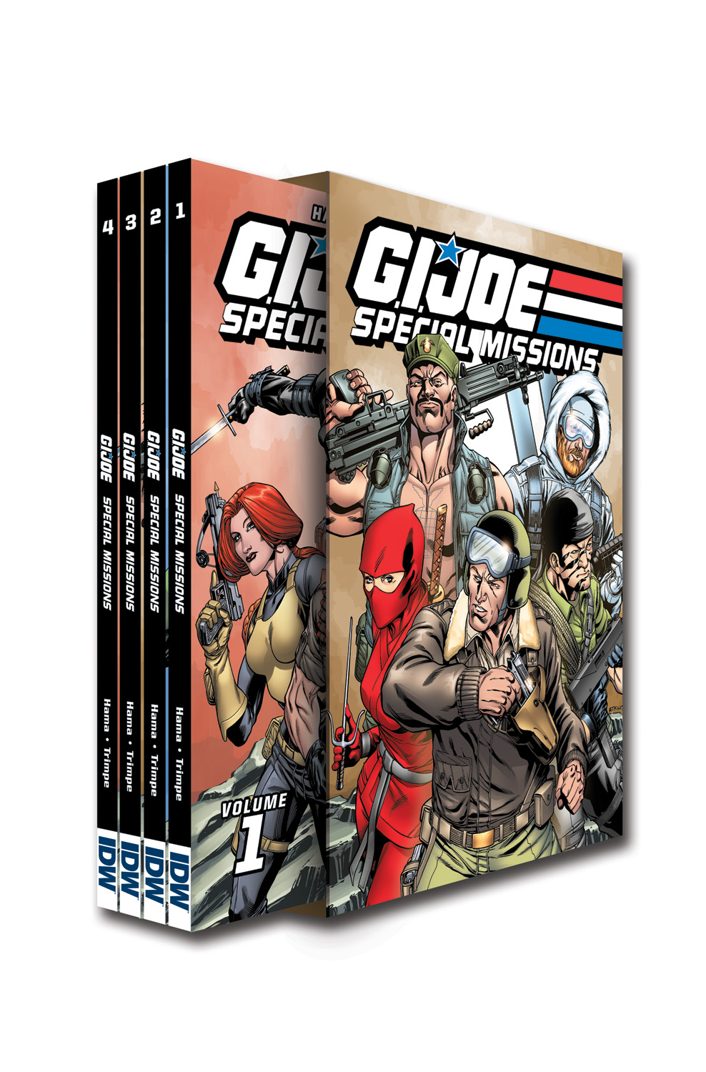 G.I. JOE Special Missions Box Set