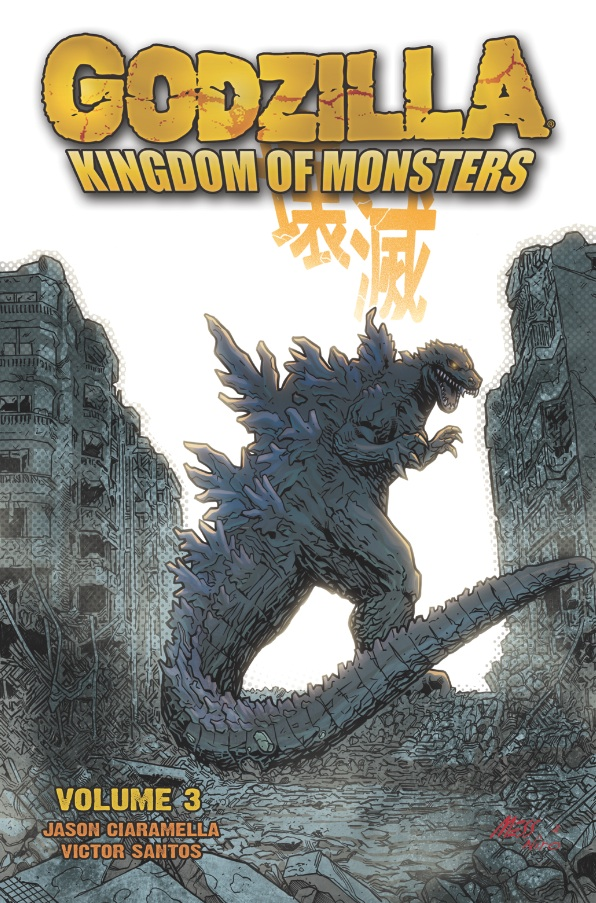 Godzilla Kingdom of Monsters Vol 3
