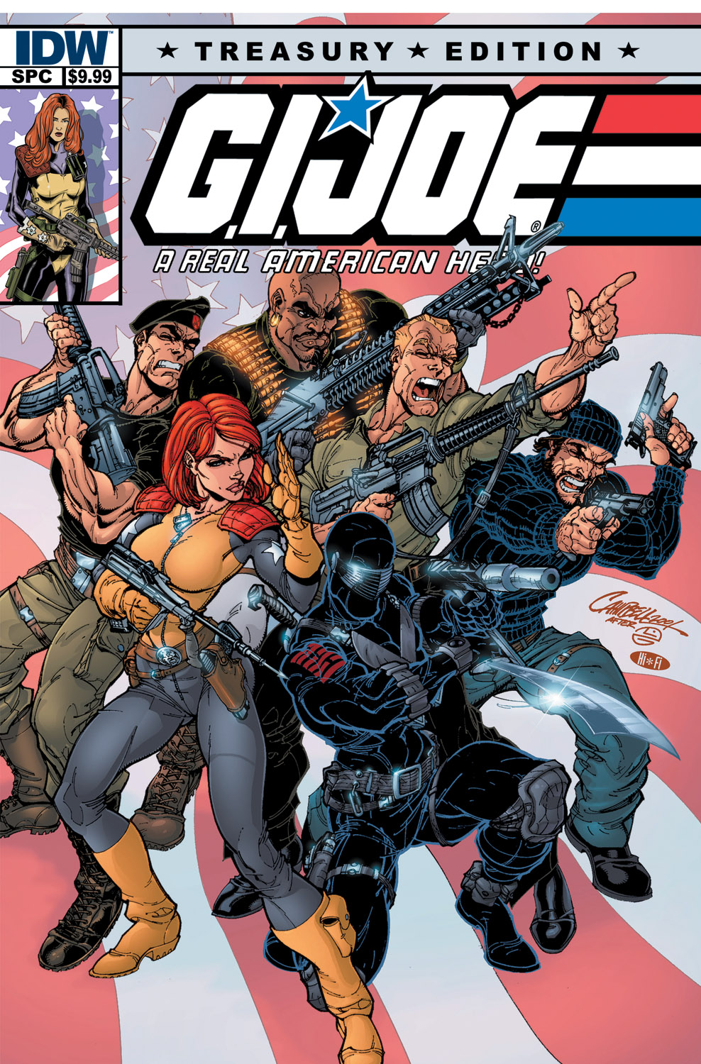 G.I. JOE: A Real American Hero Treasury Edition
