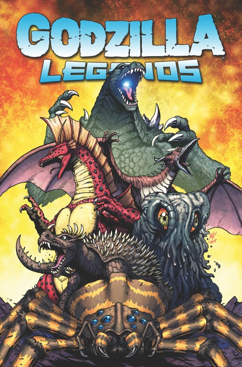 Godzilla Legends TPB