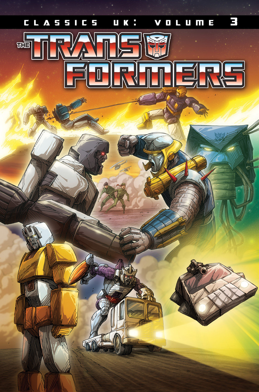 Transformers Classics UK Vol 3