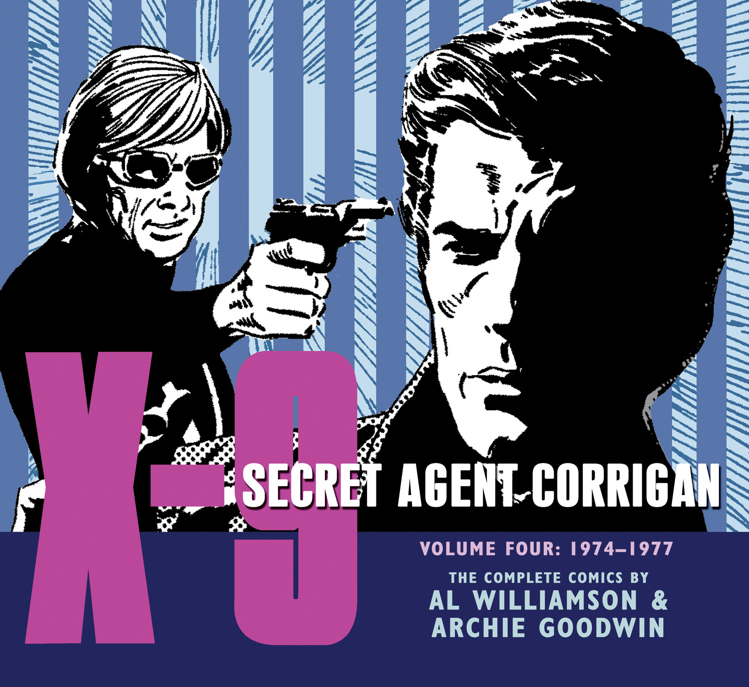 X9 Secret Agent Corrigan, Vol 4