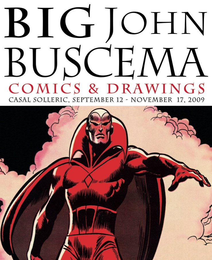 Big John Buscema Comics and Drawings