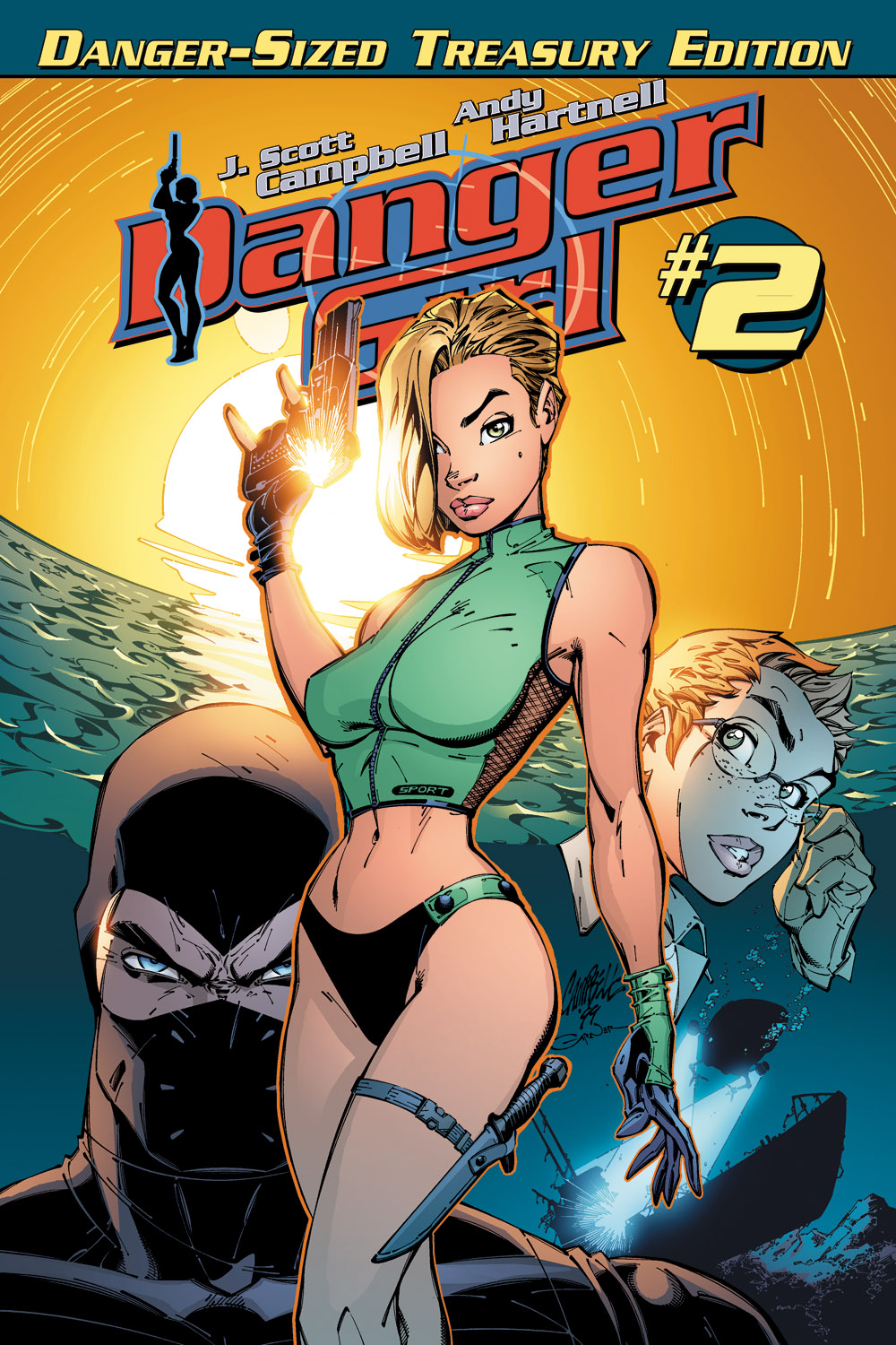 Danger Girl Treasury Edition #2