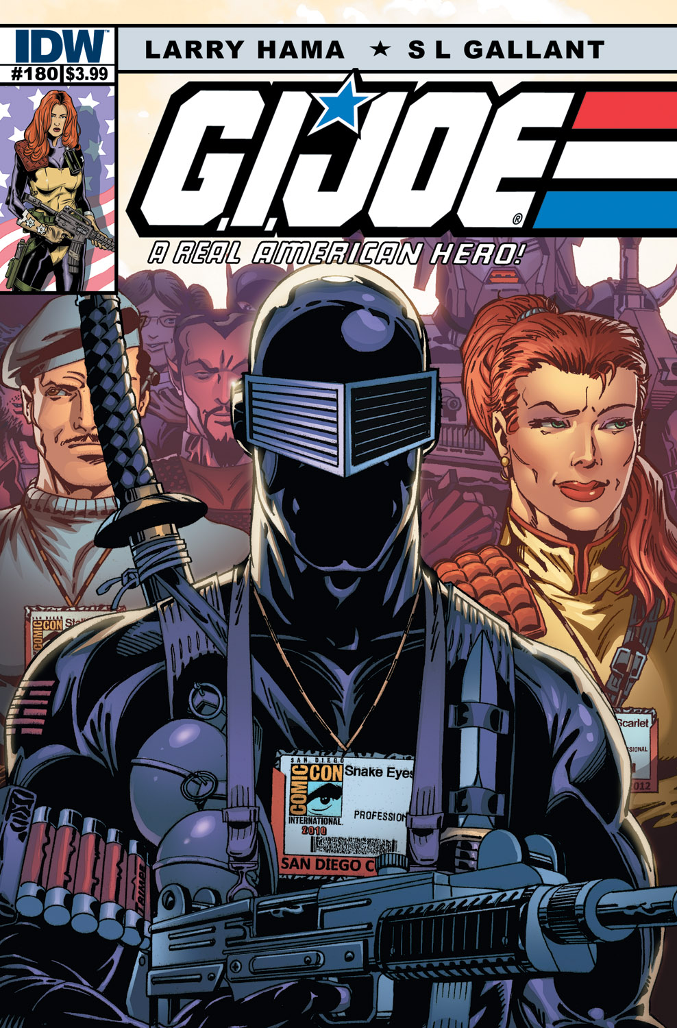 G.I. JOE Real American Hero #180