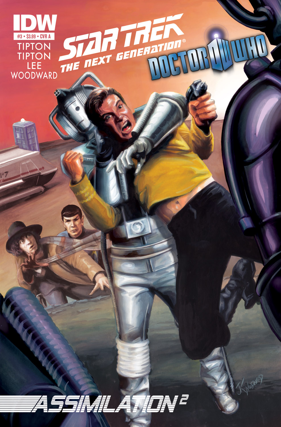 Star Trek/Doctor Who #3