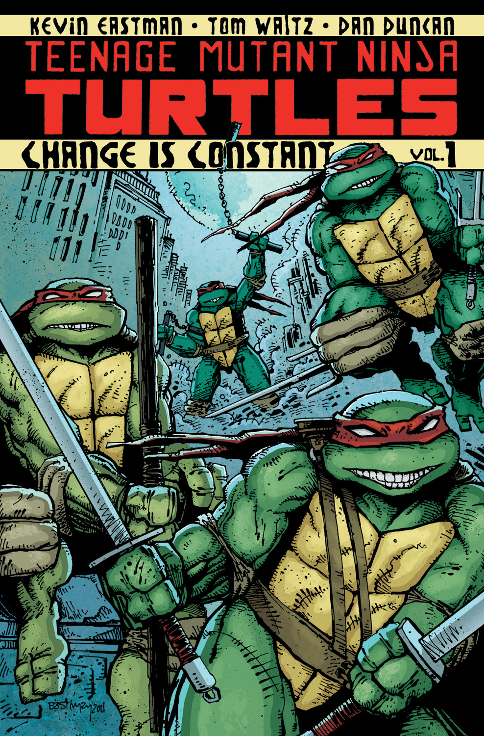 Teenange Mutant Ninja Turtles Vol 1