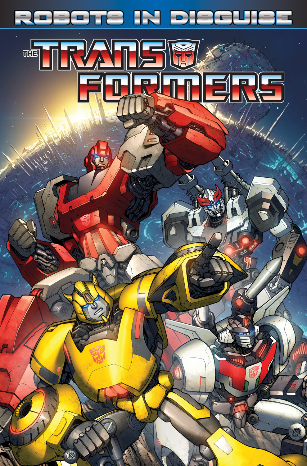 Transformers: Robots in Disguise Vol 1