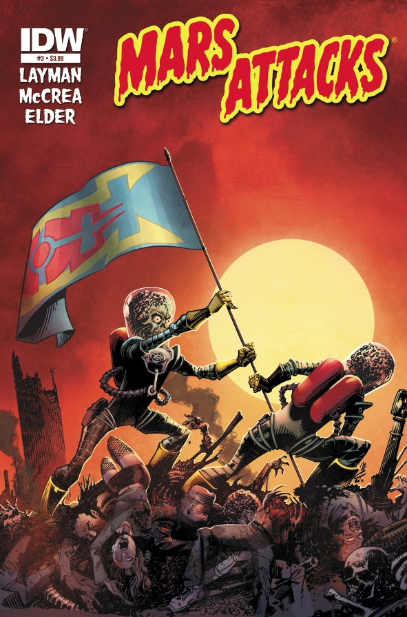 Mars Attacks #3