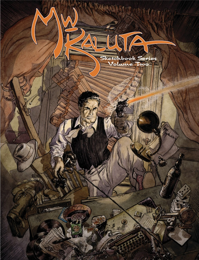 Michael WM Kaluta Sketchbook Series Vol 2