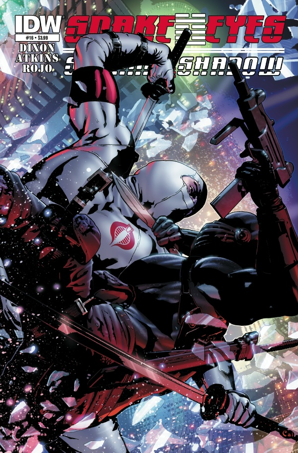 Snake Eyes & Storm Shadow #16