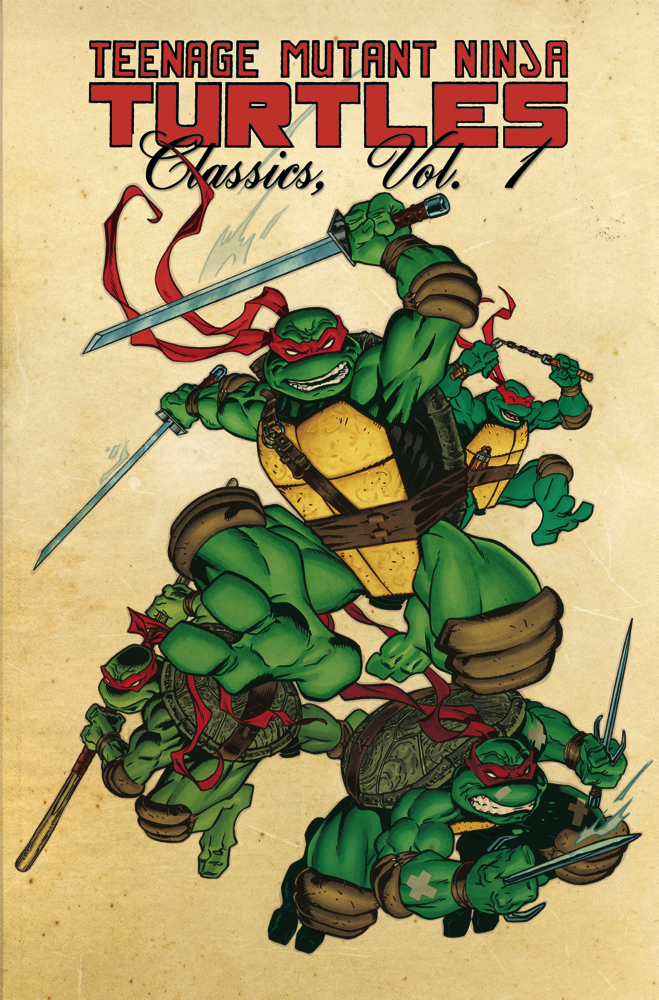 Teenage Mutant Ninja Turtles Classics Vol 1