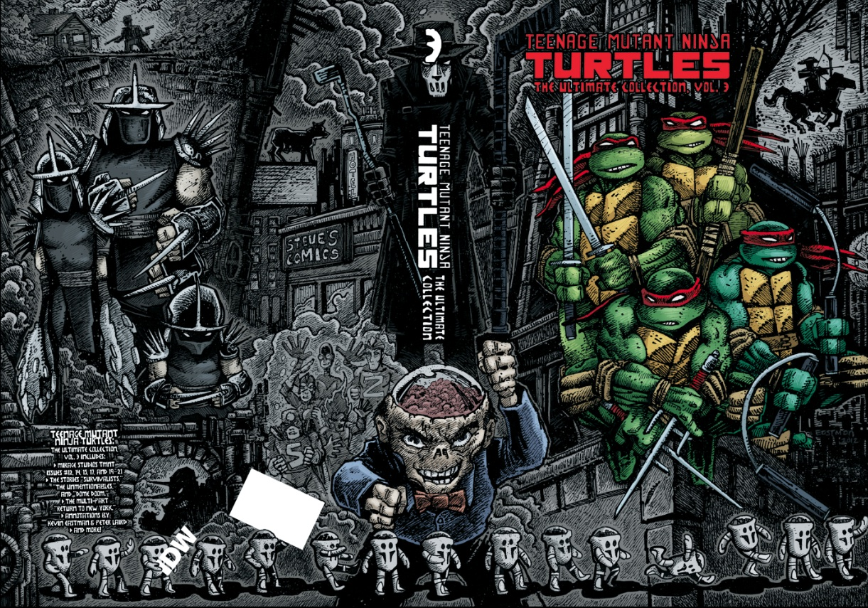Teenage Mutant Ninja Turtles Ultimate Collection Vol 3