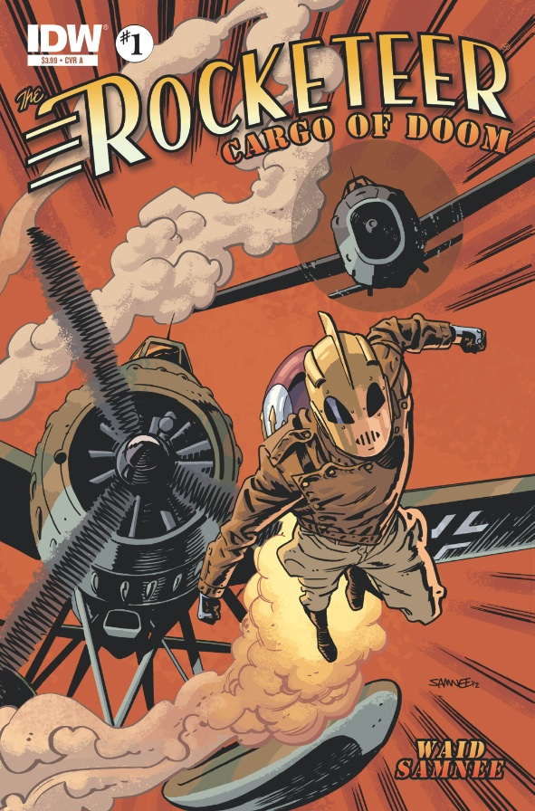 The Rocketeer Cargo of Doom #1