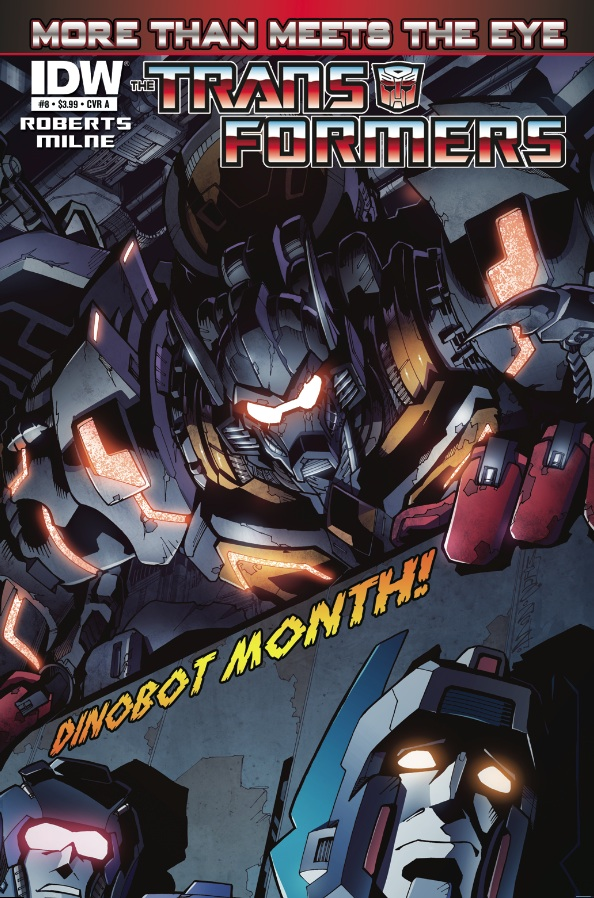 Transformers: More Than Meets the Eye #8