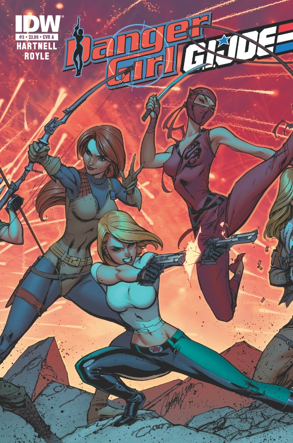 Danger Girl/G.I. JOE #3