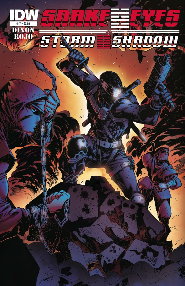 Snake Eyes & Storm Shadow #17