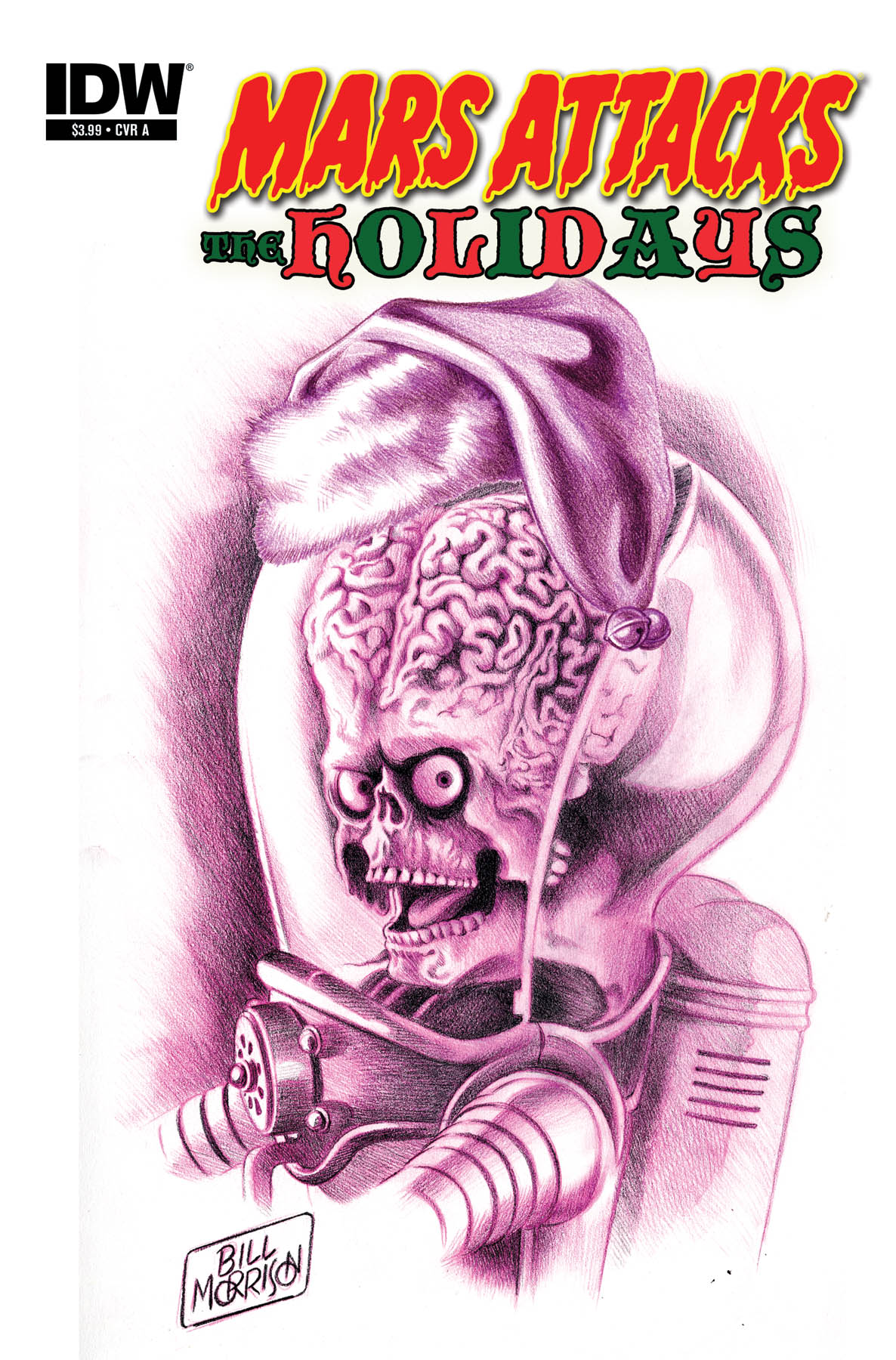 Mars Attacks the Holidays