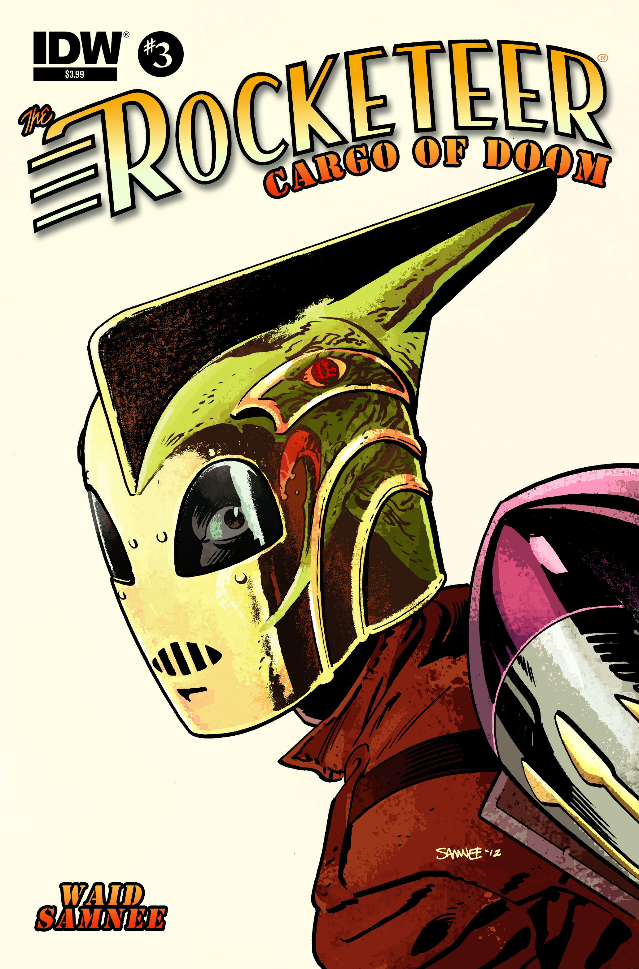 The Rocketeer Cargo of Doom #3