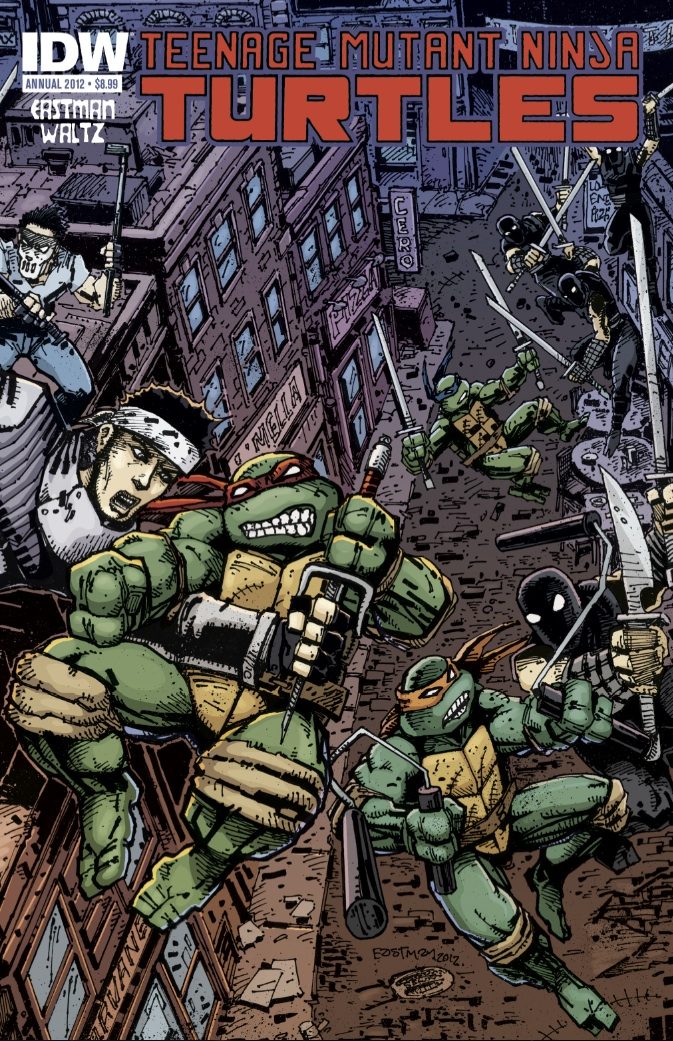TMNT Annual 2012