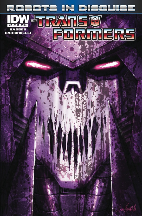 Transformers: Robots in Disguise #10