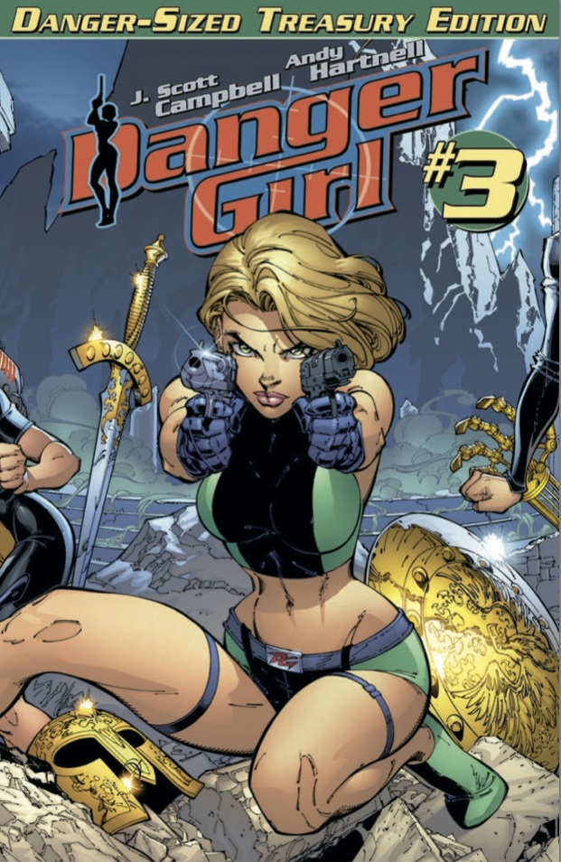 Danger Girl Danger Sized Treasury Edition #3