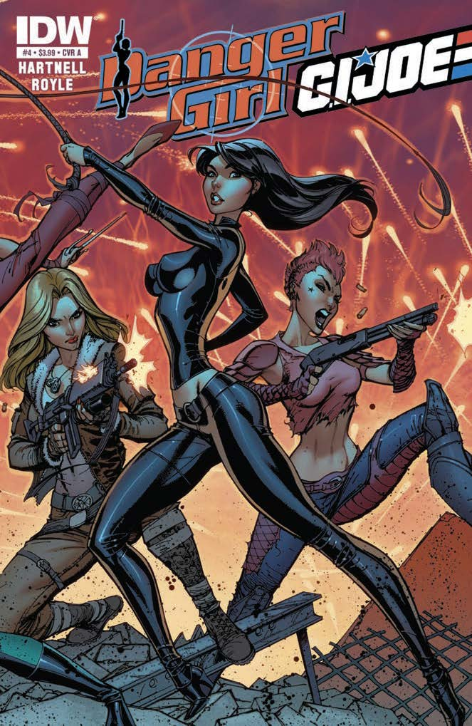 Danger Girl/G.I. JOE #4