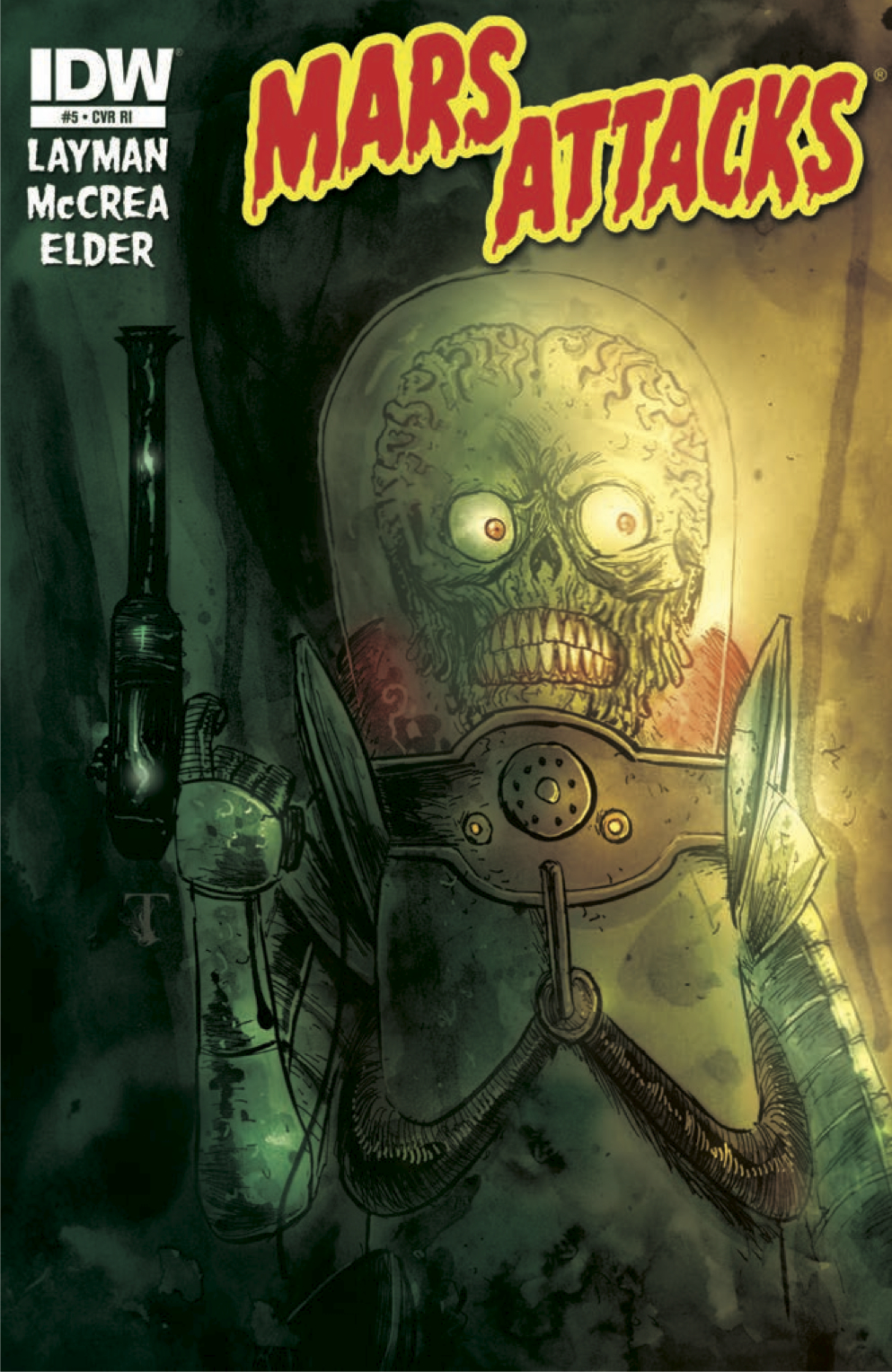 Mars Attacks #5