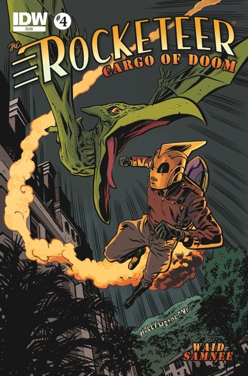The Rocketeer Cargo of Doom #4
